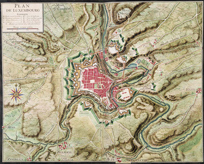 Plan of Luxembourg