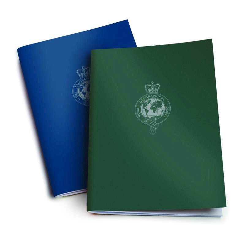 Exercise Book - Blue / Green