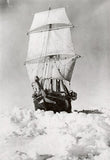 Endurance in the ice in full sail