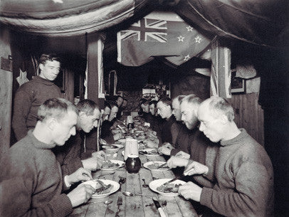 Midwinter dinner aboard the Endurance