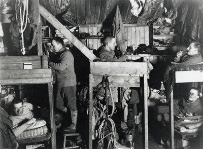 Bunks in the hut of Bowers, Cherry-Garrard, Oates, Meares & Atkinson