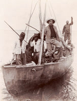 Belgian Steel Boat on Lake Albert Edward, Zaire