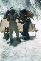 Edmund Hillary & Tenzing Norgay preparing for final assault at Camp IV