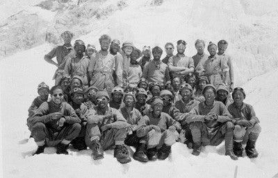 The 1953 Mount Everest team