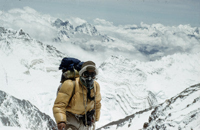 Tenzing Norgay at the south east ridge (27,300 feet)