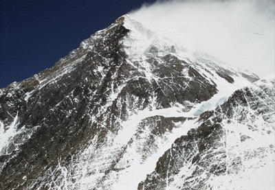 The South Summit of Mount Everest from Camp VII