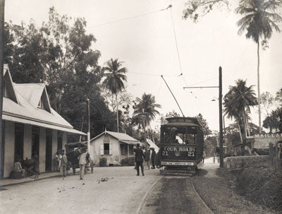 'Four Roads' near Port of Spain - Trinidad