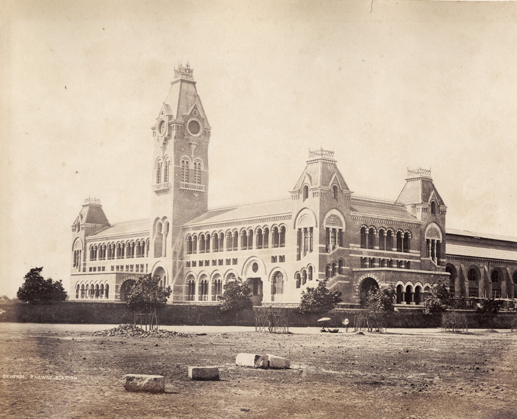 The Central Railway Station, Madras [now Chennai]