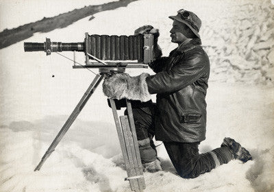 Herbert Ponting and telephoto apparatus