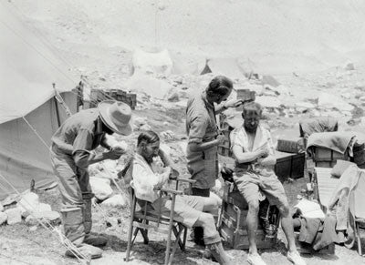 The 'Barber's Shop' at Base Camp