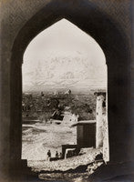 Shiraz in winter, through Qur'an gate
