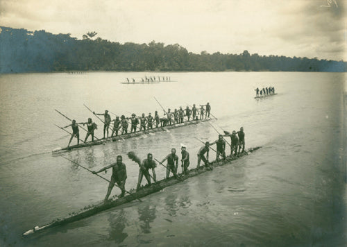Papuans from the Lorentz river
