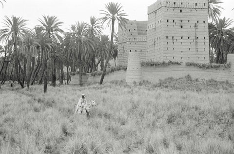 Mansion in Rijla looking East, Najran
