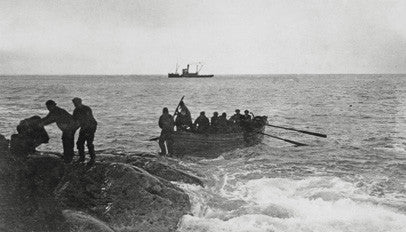 Rescuing the crew from Elephant Island