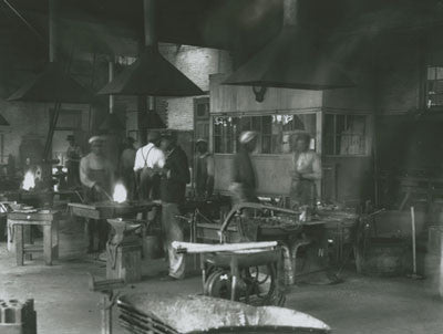 In the iron foundry, Hampton