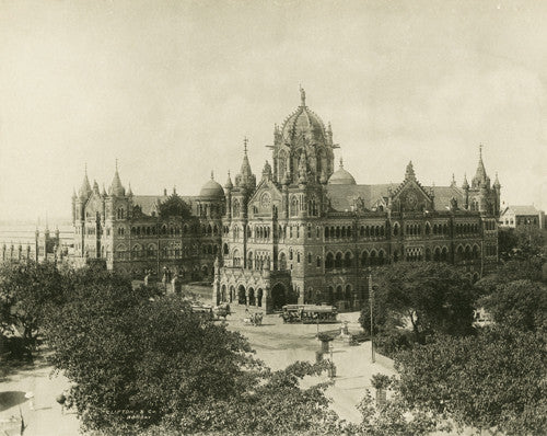 Railway Station, Bombay [now Mumbai]