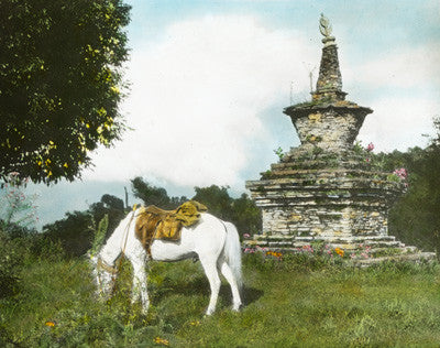 Hillside shrine