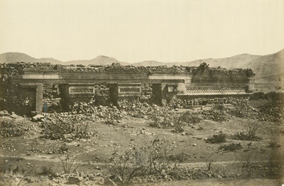 Ruined palace at Mitla