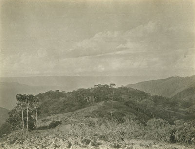 View from the mountains towards Mapiri