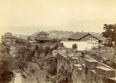 Wall of Chung-king, with gate towers