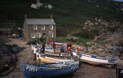 Pendeen Cove Fishing Village, Cornwall