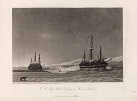 H.M. Ships Hecla & Griper in Winter Harbour