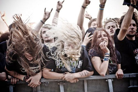 heavy metal metal fans