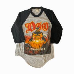 Vintage Dio t-shirt 80s - Heavy-Metal-Addict