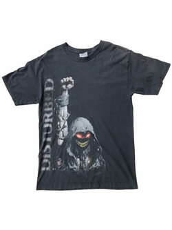 disturbed t-shirt guarded-Heavy-Metal-Addict