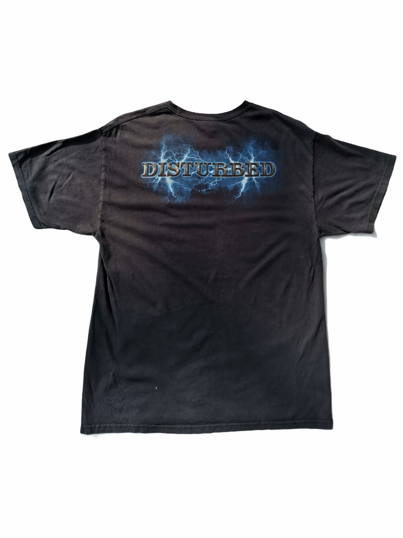 disturbed tee shirt-Heavy-Metal-Addict