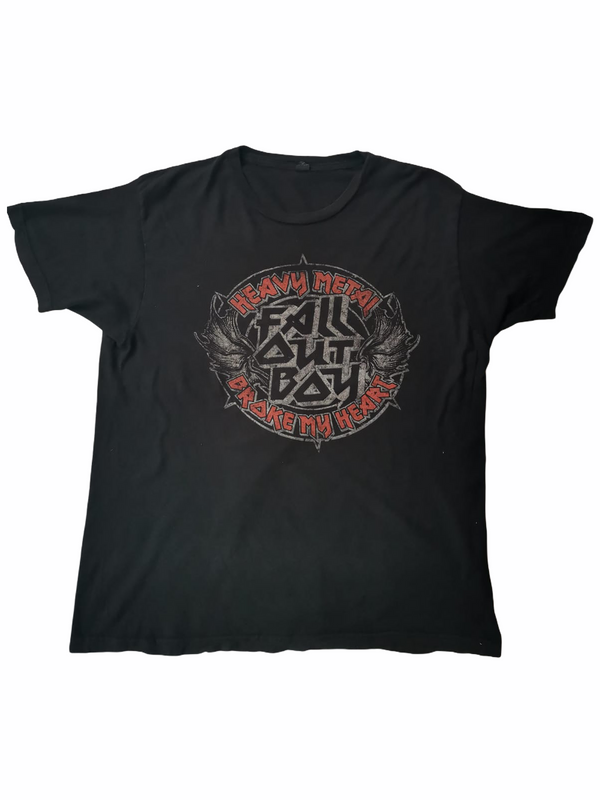 fall out boy t-shirt-Heavy-Metal-Addict