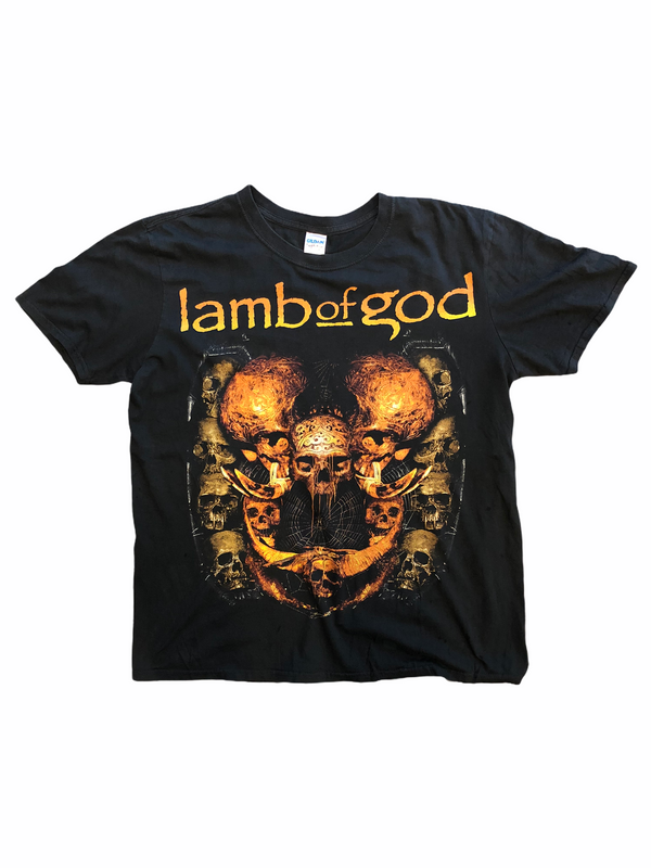 Lamb of god t-shirt skull - Heavy-Metal-Addict