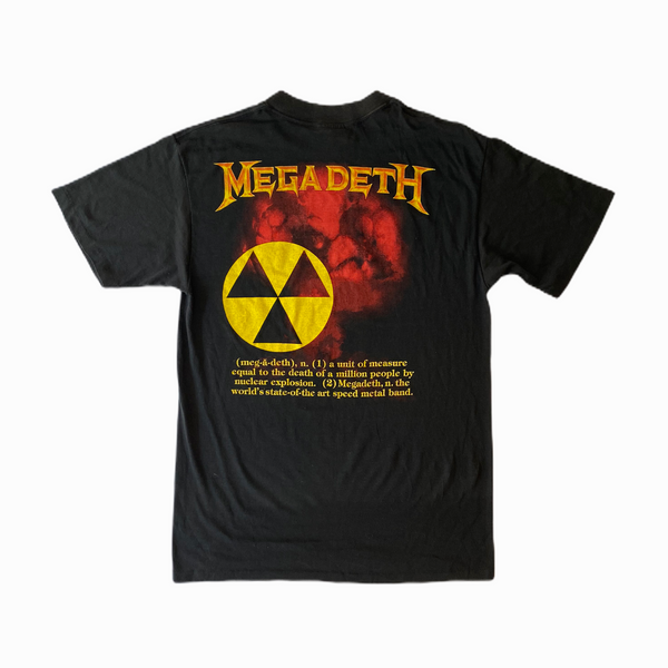 Megadeth vintage t-shirt 80s - Heavy-Metal-Addict