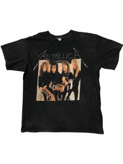 vintage metallica band t-shirt-Heavy-Metal-Addict