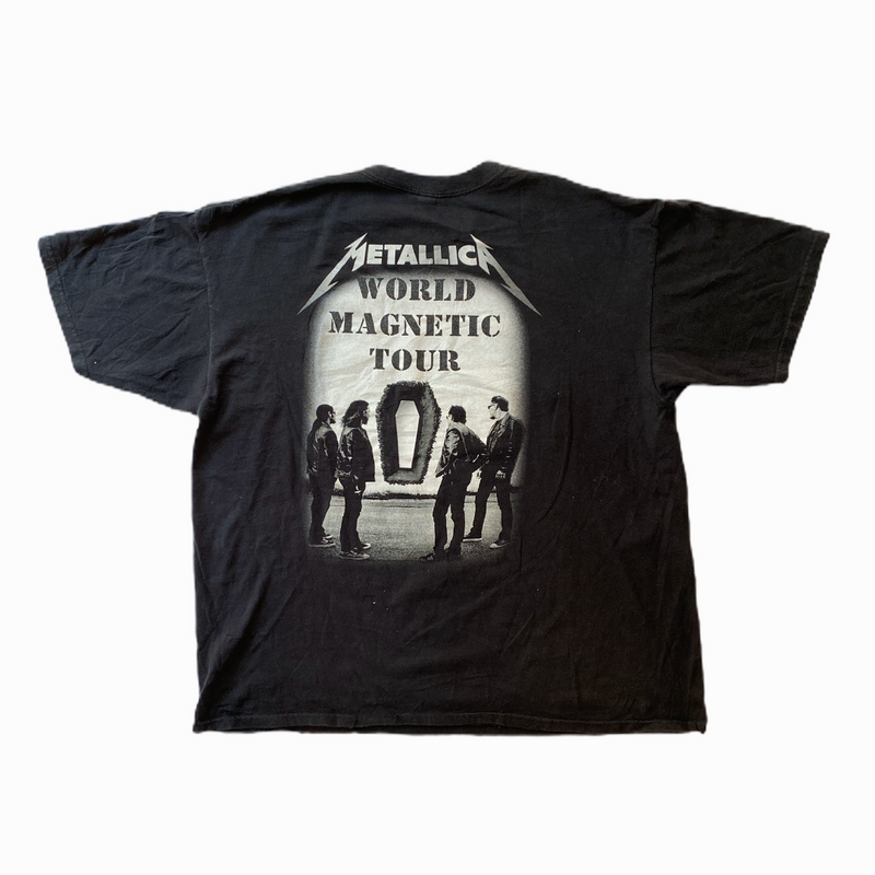 Vintage Metallica t-shirt death magnetic - Heavy-Metal-Addict