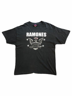 vintage ramones t-shirt-Heavy-Metal-Addict