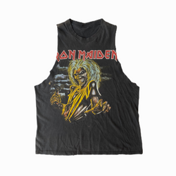 Vintage Iron Maiden t-shirt Killers sleeveless - Heavy-Metal-Addict