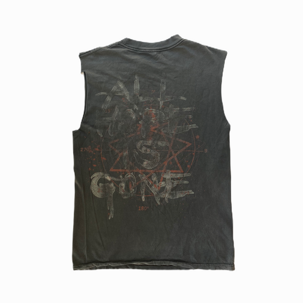 Vintage Slipknot tee shirt all hope is gone sleeveless - Heavy-Metal-Addict