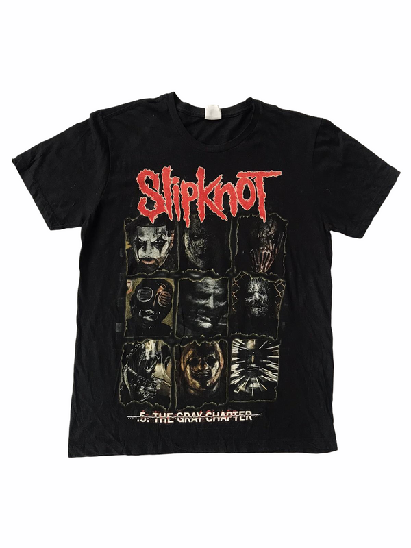 vintage slipknot t-shirt grey chapter-Heavy-Metal-Addict