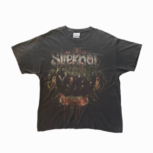 Vintage Slipknot t-shirt emblem - Heavy-Metal-Addict