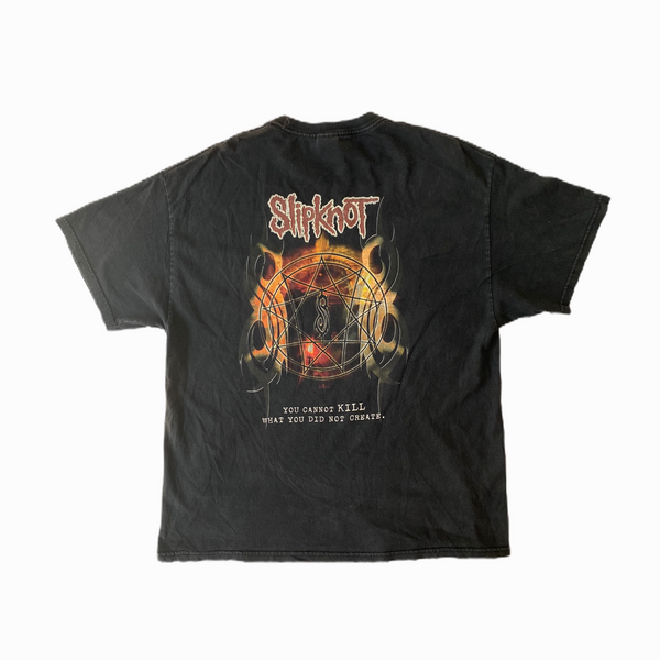 Vintage Slipknot tee shirt we won't die - Heavy-Metal-Addict