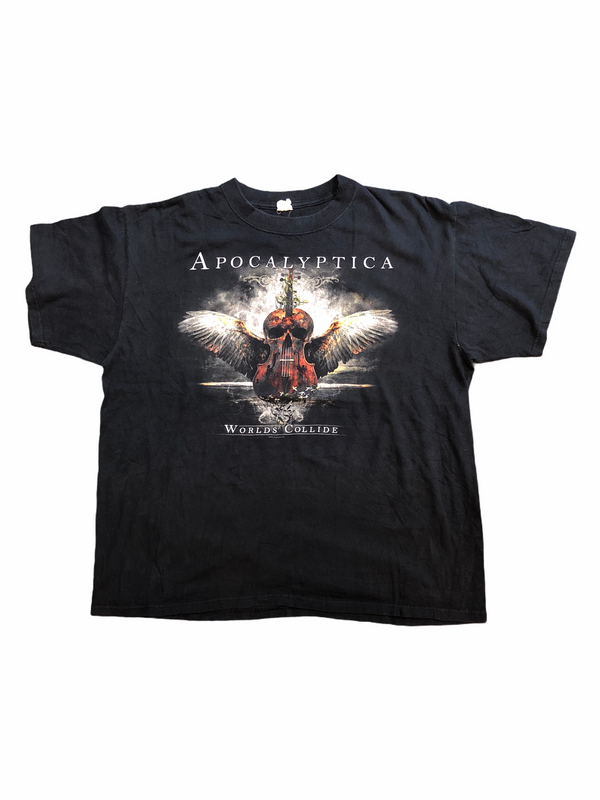 t-shirt apocalyptica worlds collide tour