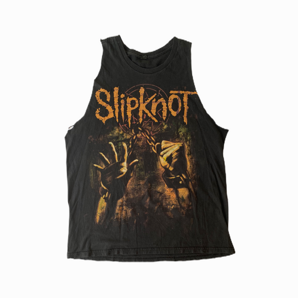 Vintage Slipknot t-shirt sleeveless - Heavy-Metal-Addict