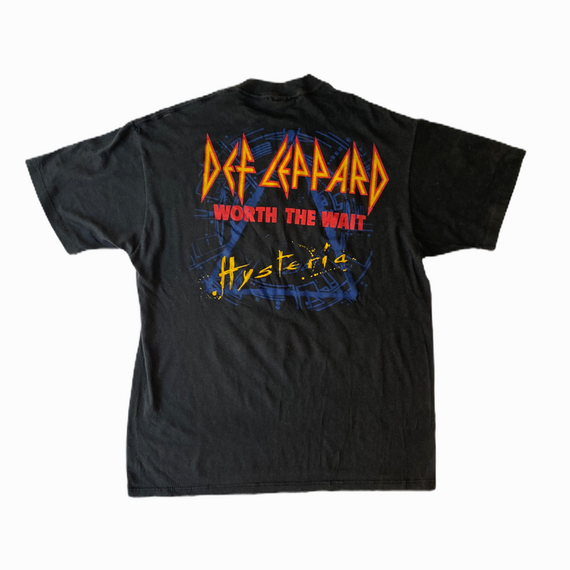 Vintage Def Leppard t-shirt 80s - Heavy-Metal-Addict