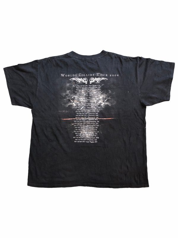 tee shirt apocalyptica worlds collide tour