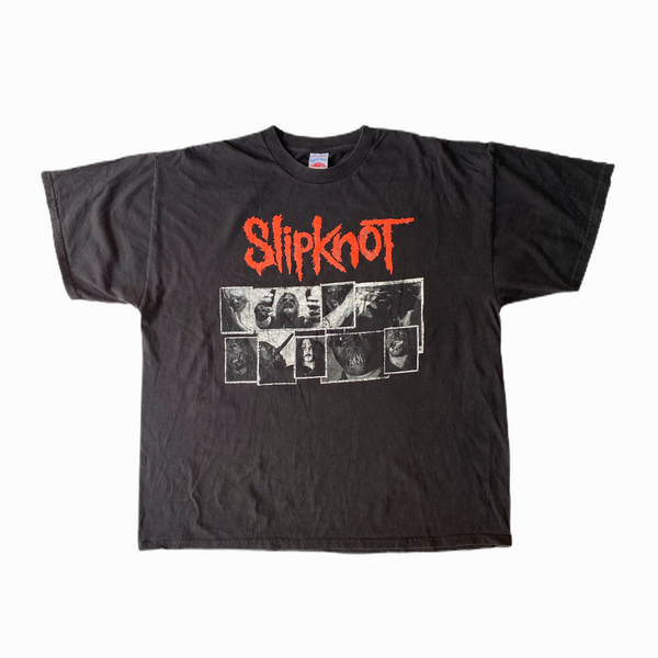 Vintage Slipknot t-shirt band - Heavy-Metal-Addict