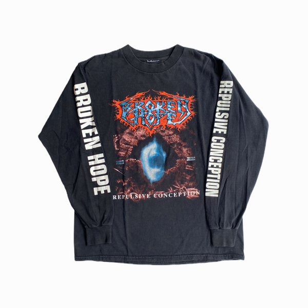 Vintage Broken Hope t-shirt 90s - Heavy-Metal-Addict