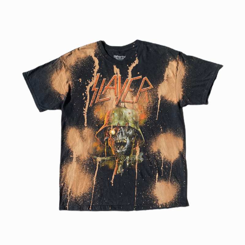 Slayer t-shirt tie and dye - Heavy-Metal-Addict
