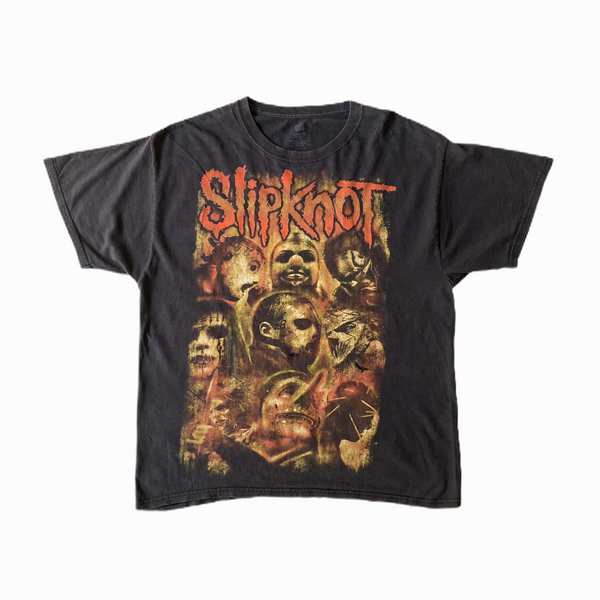 Vintage Slipknot t-shirt band members - Heavy-Metal-Addict