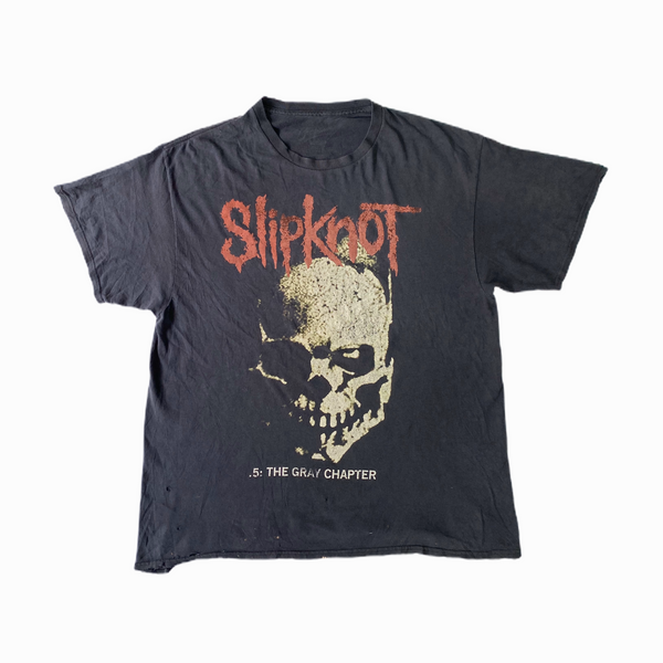 Vintage Slipknot t-shirt the grey chapter - Heavy-Metal-Addict